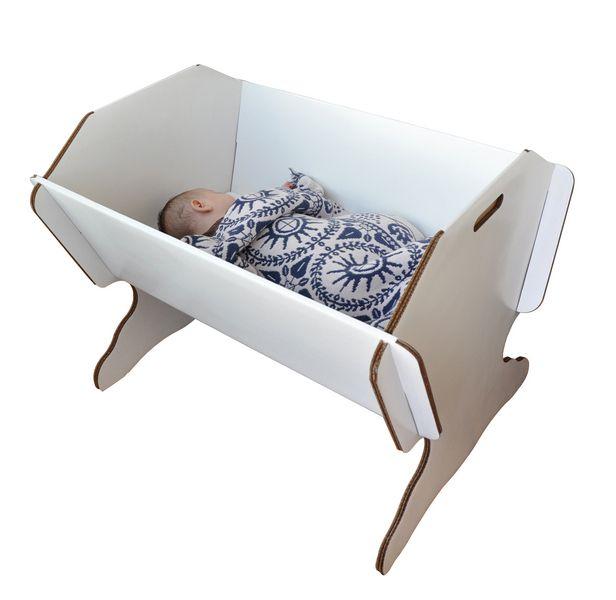 Details zu Lullaby Bio Babybett, Bett für Kinder aus recyceltem ...