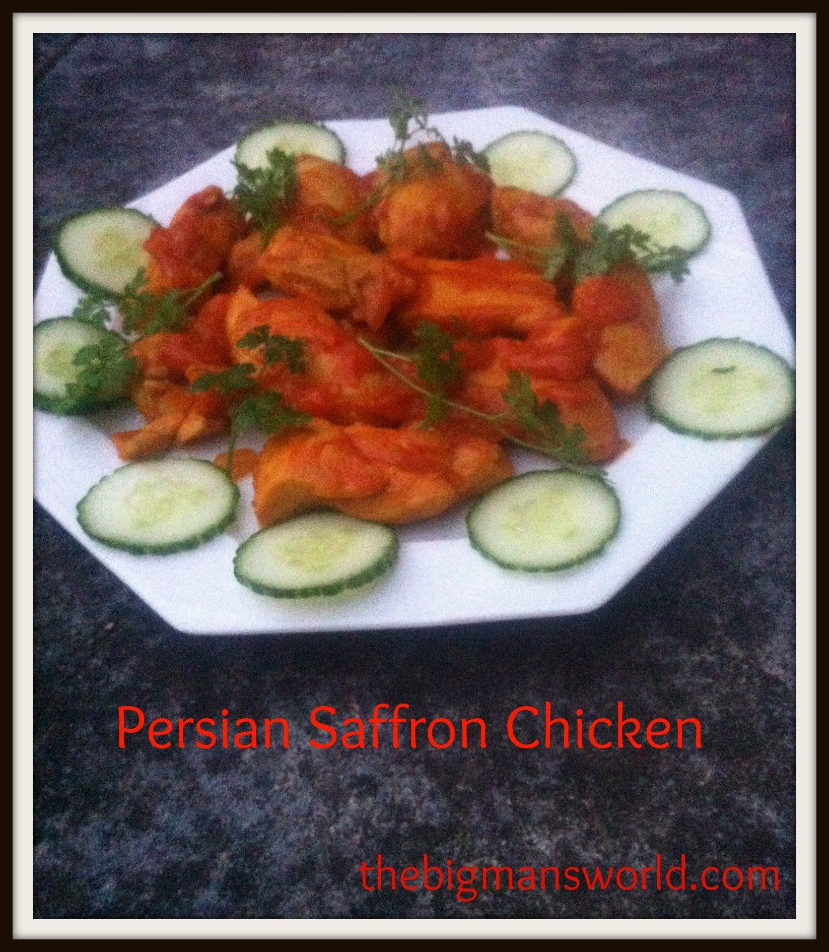 Chicken 65 healthy food kitchen - From My Mum S Kitchen To Yours Her Infamous Persian Saffron Chicken Recipe So Simple
