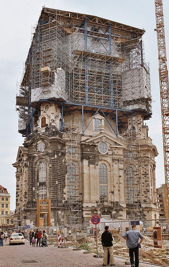 Reconstruction Of The Frauenkirche Frauenkirche Dresden Kirchen