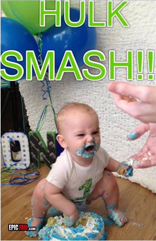 f11abddd748a24663e13c5d0b6678ba4 birthday cake fail troll baby win hulk smash win fail pinterest