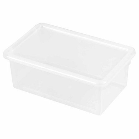 ECR4Kids Stack and Store Tub with Lid, Clear