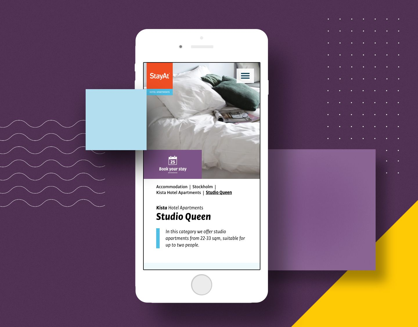 """Check out this @Behance project: """"StayAt – Website & digital identity"""" https://www.behance.net/gallery/50243395/StayAt-Website-digital-identity"""