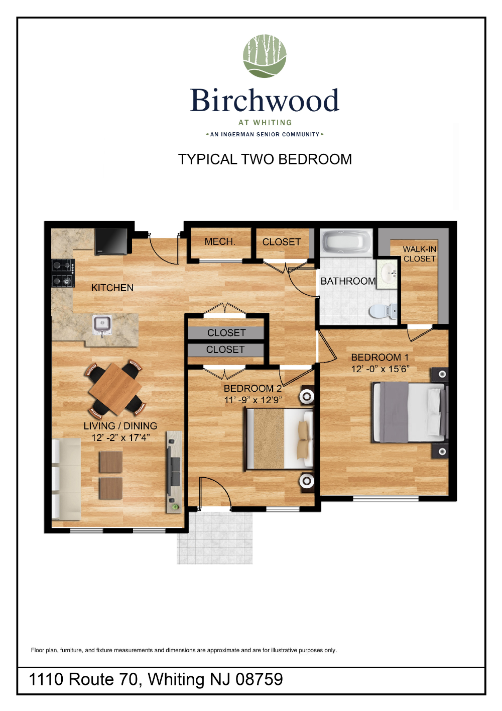 Birchwood At Whiting Senior Living In Whiting Nj After55 Com Birchwood Housing Options Senior Living