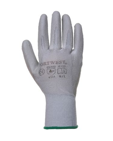 PU Palm Glove. Comes in black, gray or white. Only $1.95 each. www.saraglove.com