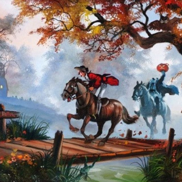 Sleepy Hollow Halloween: The Horseman Is Said To Be Incapable Of Crossing The