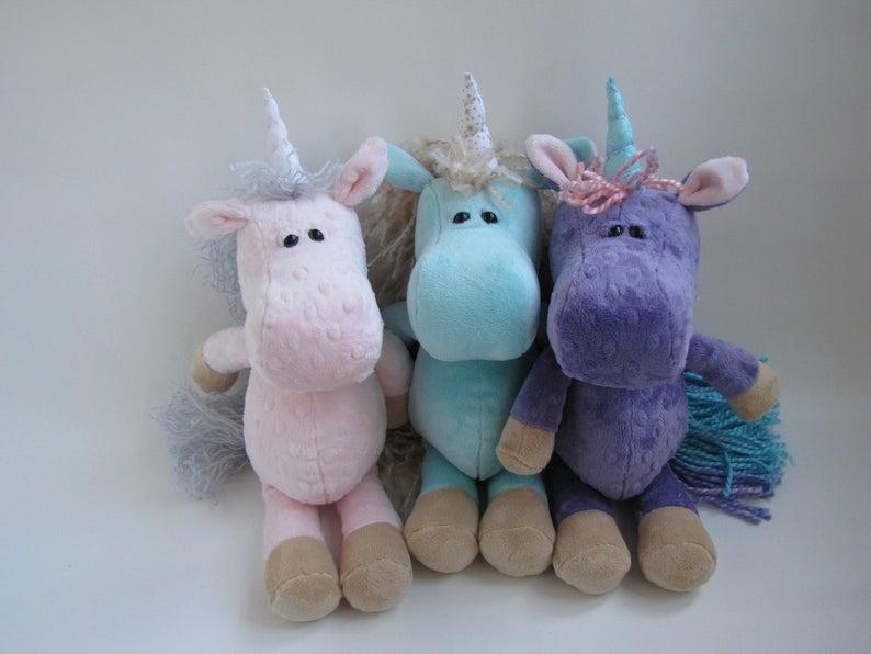 Stuffed Animal Unicorn/Horse PATTERN #horsepattern