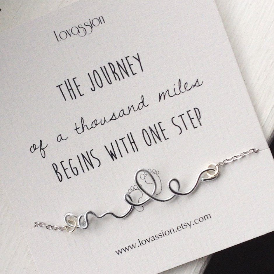 """The journey of a thousand miles begins with one step"" Lao Tzu"