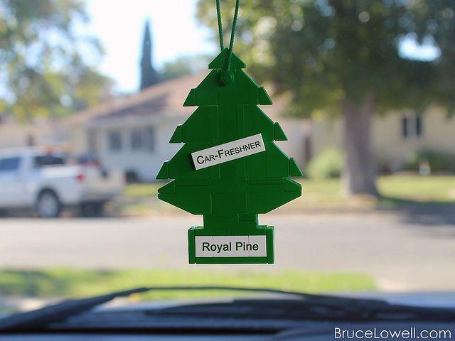 Lego Car Air Freshener Guys Christmas Tree Lego Scented Sachets