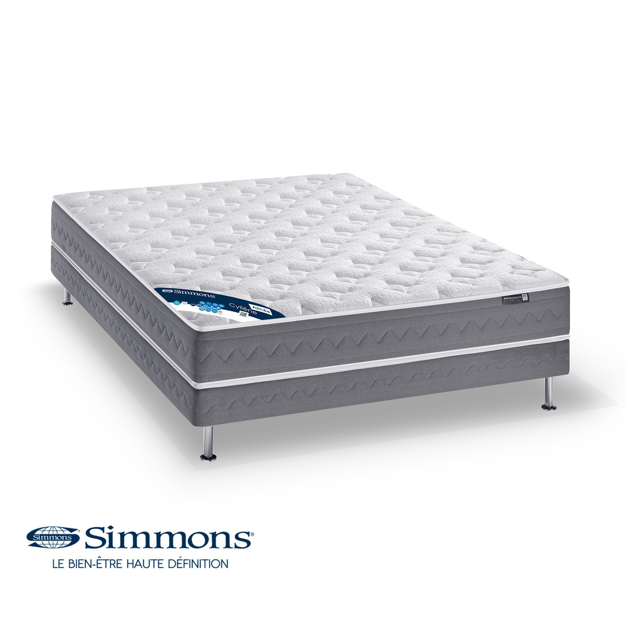 matelas ressorts ensach s simmons 25cm cyllene les matelas les matelas et sommiers. Black Bedroom Furniture Sets. Home Design Ideas