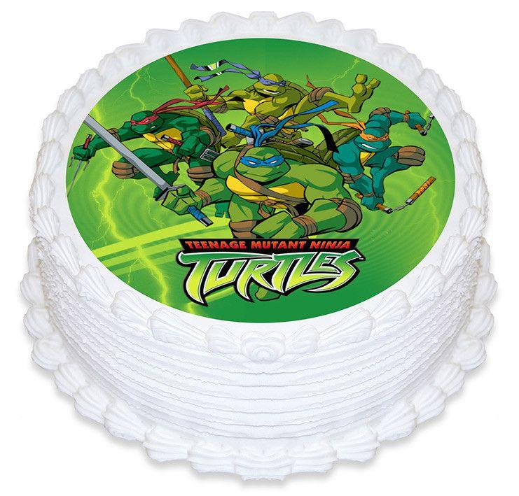 Teenage Mutant Ninja Turtle Teenage Mutant Ninja Turtles Party Ninja Turtle Cake Ninja Turtle Party Supplies