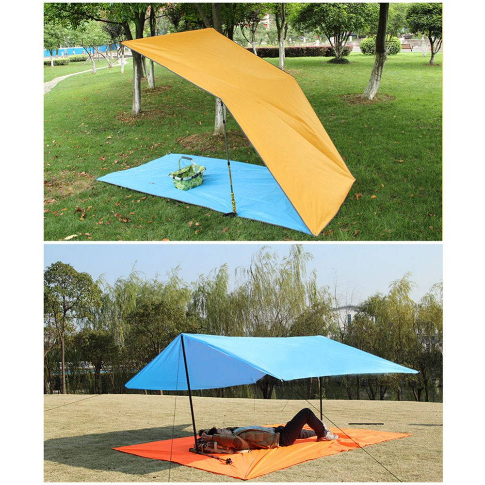 300 220 Camping Mat Mattress Outdoor Picnic Carpet Beach Mat Blanket With Storage Bag Waterproof Moisture Proof Portable Outdoor Survival Outdoor