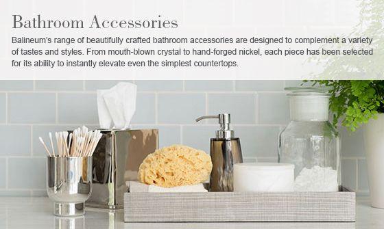 Luxury Bathroom Accessories   Balineum