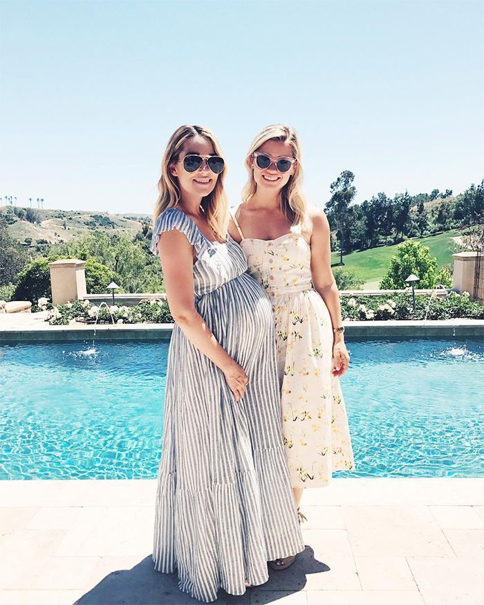 60486d5d2f59 Lauren Conrad celebrated her baby shower over the weekend wearing an airy  Ulla Johnson dress perfect for ringing in the summer.