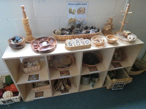 How to set up interesting indoor learning environments for children.