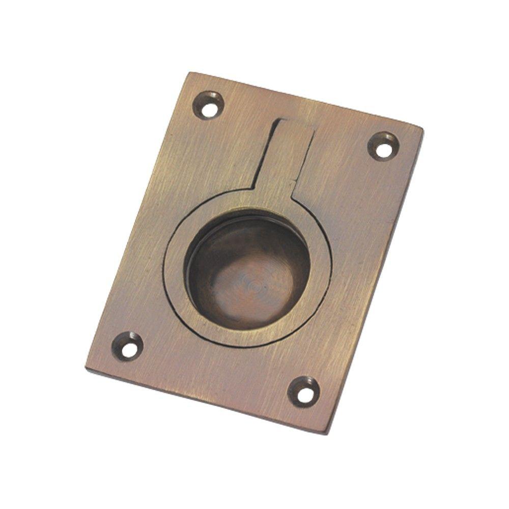C53-AB Flush Ring Pull Handle - Antique | Alfredo Porro\'s Noble ...