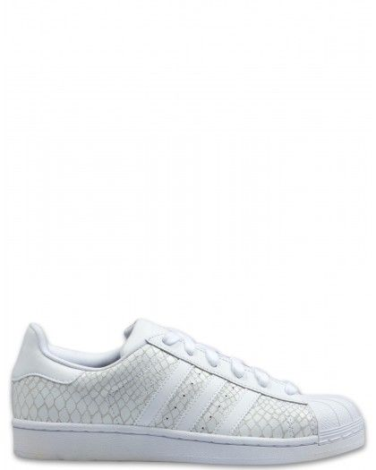 adidas Damen Superstar W Gymnastikschuhe, weiß