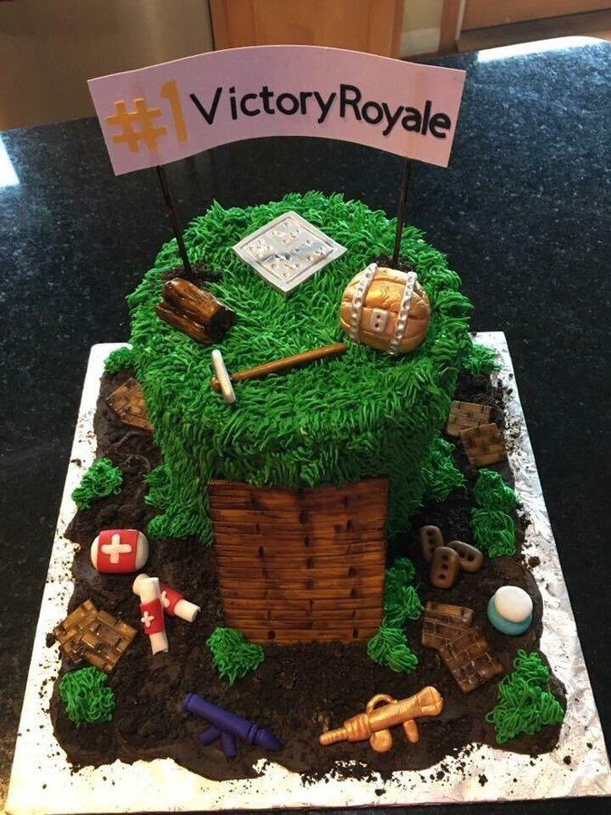 Fortnite Cake Cakes Cumplea 241 Os Tortas Pastel Decorado