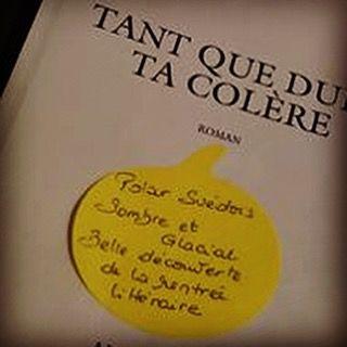 Tant que dure ta colère de Asa Larsson Editions Albin Michel Coup de cœur de Pépita librairie Maison Lacoste à Mont de Marsan @maison_lacoste  #lespetitsmotsdeslibraires #livre #book #polar