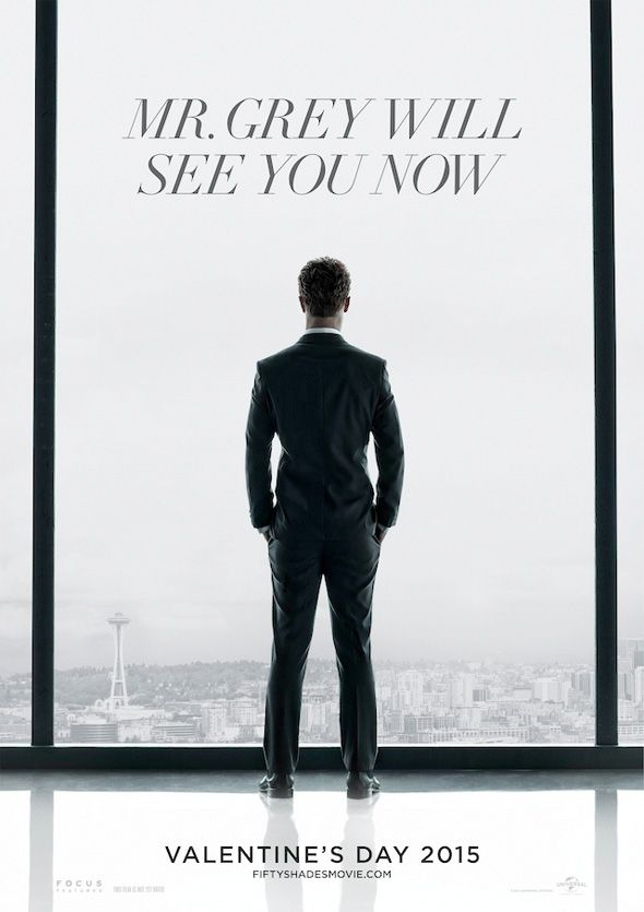 First poster for Fifty Shades of Grey - in theaters 2-13-15!