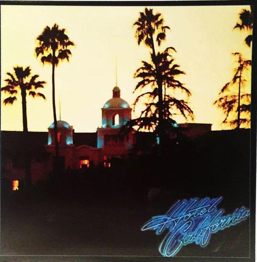 Eagles 1976 Hotel California Gatefold 33 Vinyl Lp Record Excellent