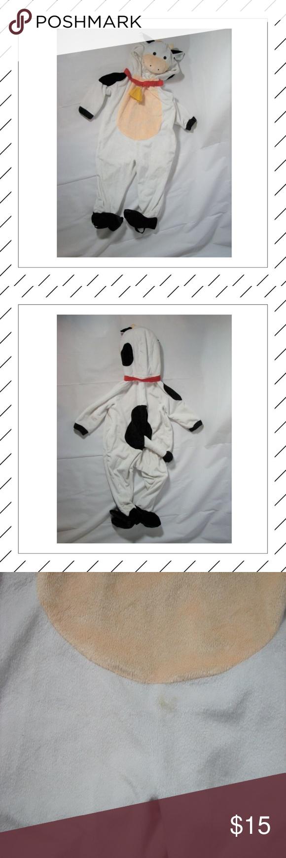 Kuh Kostüm Kleinkind 2-3T Halloween Entzückendes Kuh ...