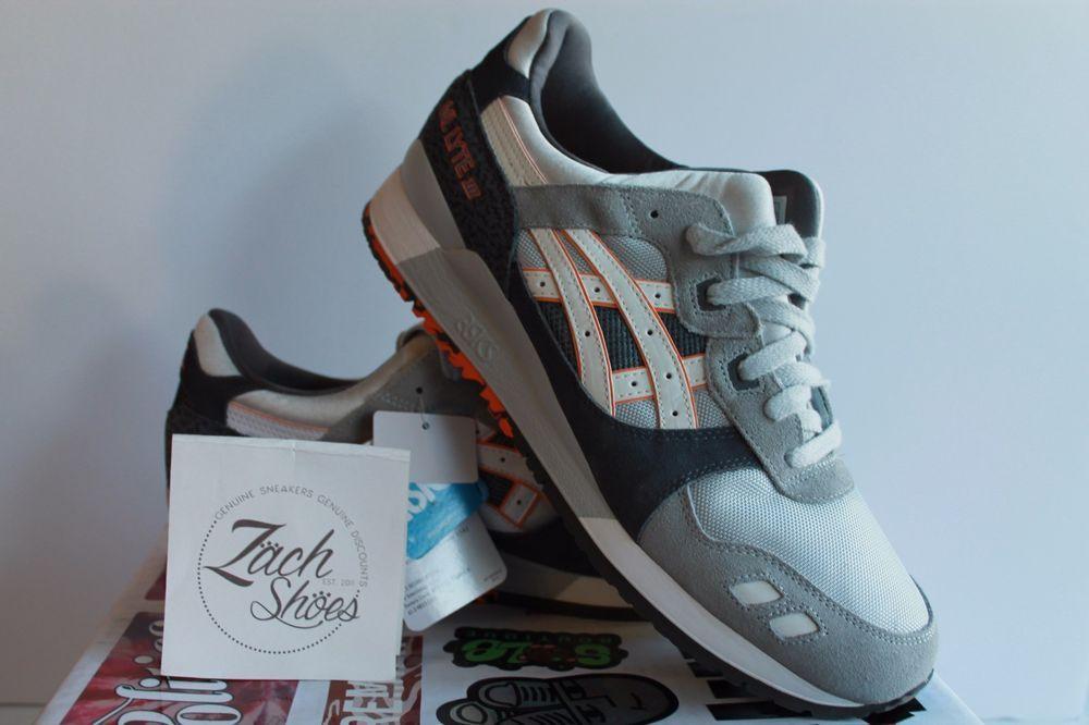 online retailer 57147 e2052 Asics Gel Lyte III 3 Anniversary Grey New Mens Sneakers Size ...