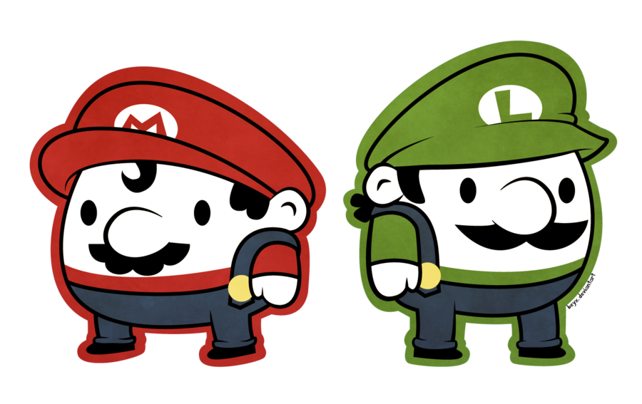 Mario And Luigi By Beyx On Deviantart Mario And Luigi Mario