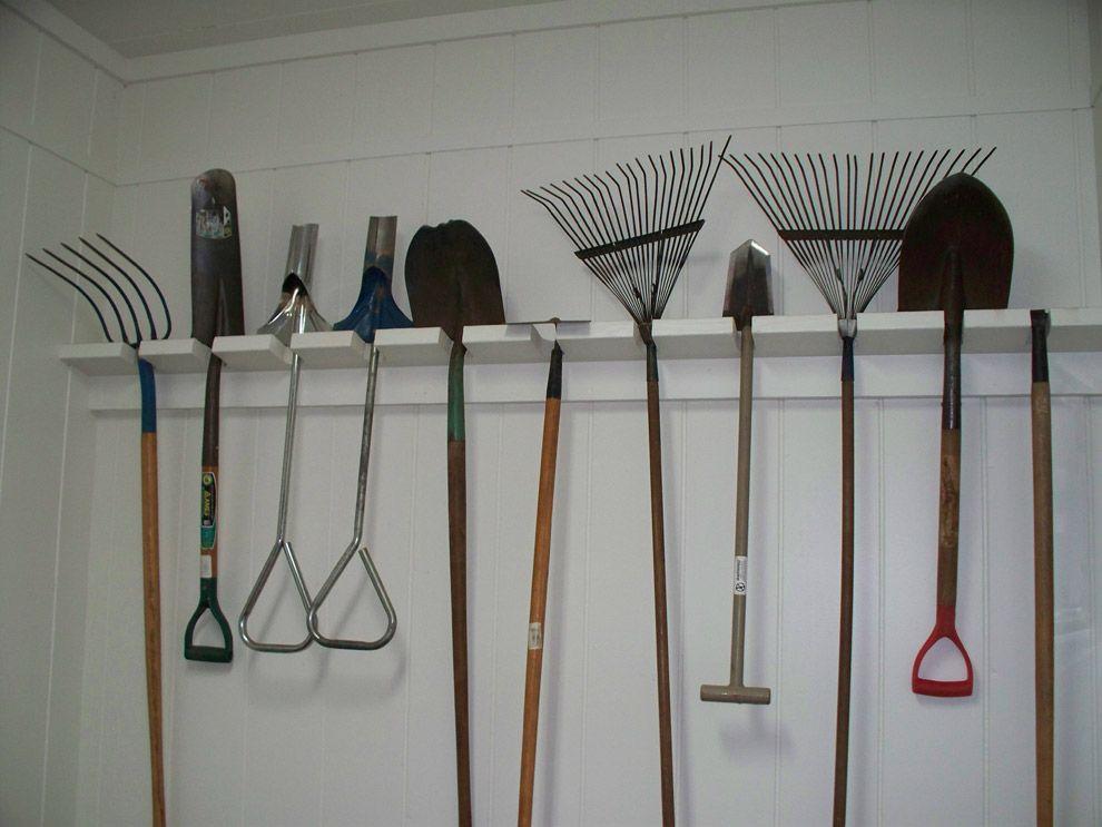 Best 25+ Garden Tool Organization Ideas On Pinterest | Tool Rack, Garden  Tool Storage And Tool Shed Organizing
