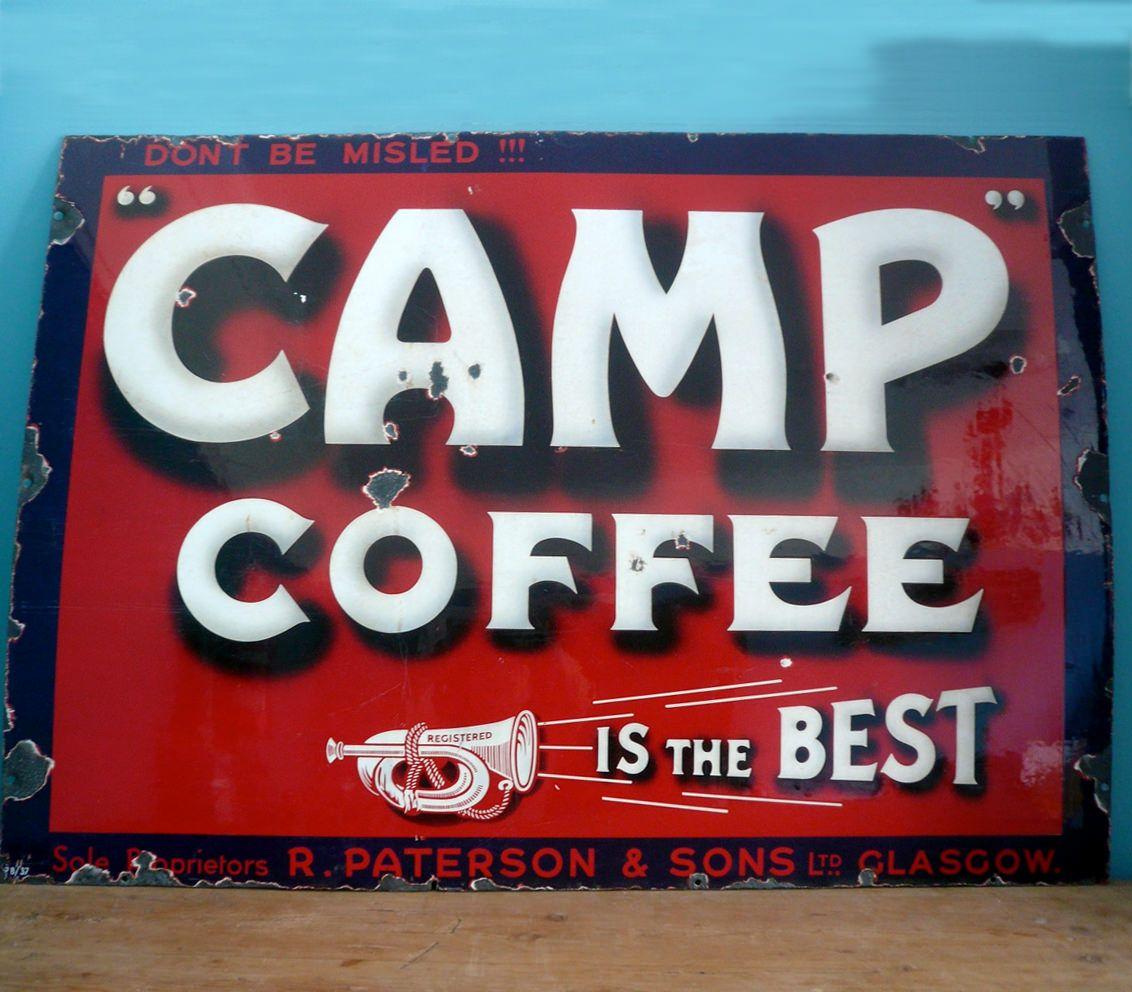 Vintage Coffee Signs