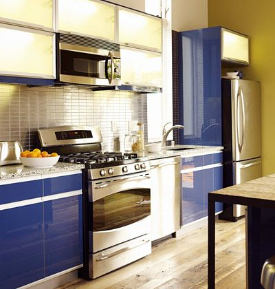 One Wall Kitchen Designs