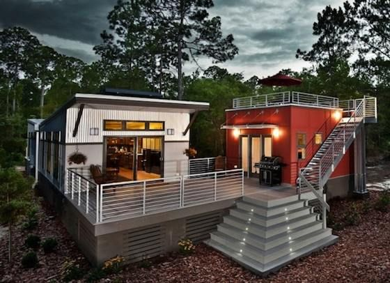 Prefab Tiny House With Solar Panels By Clayton Homes The Net Zero I House