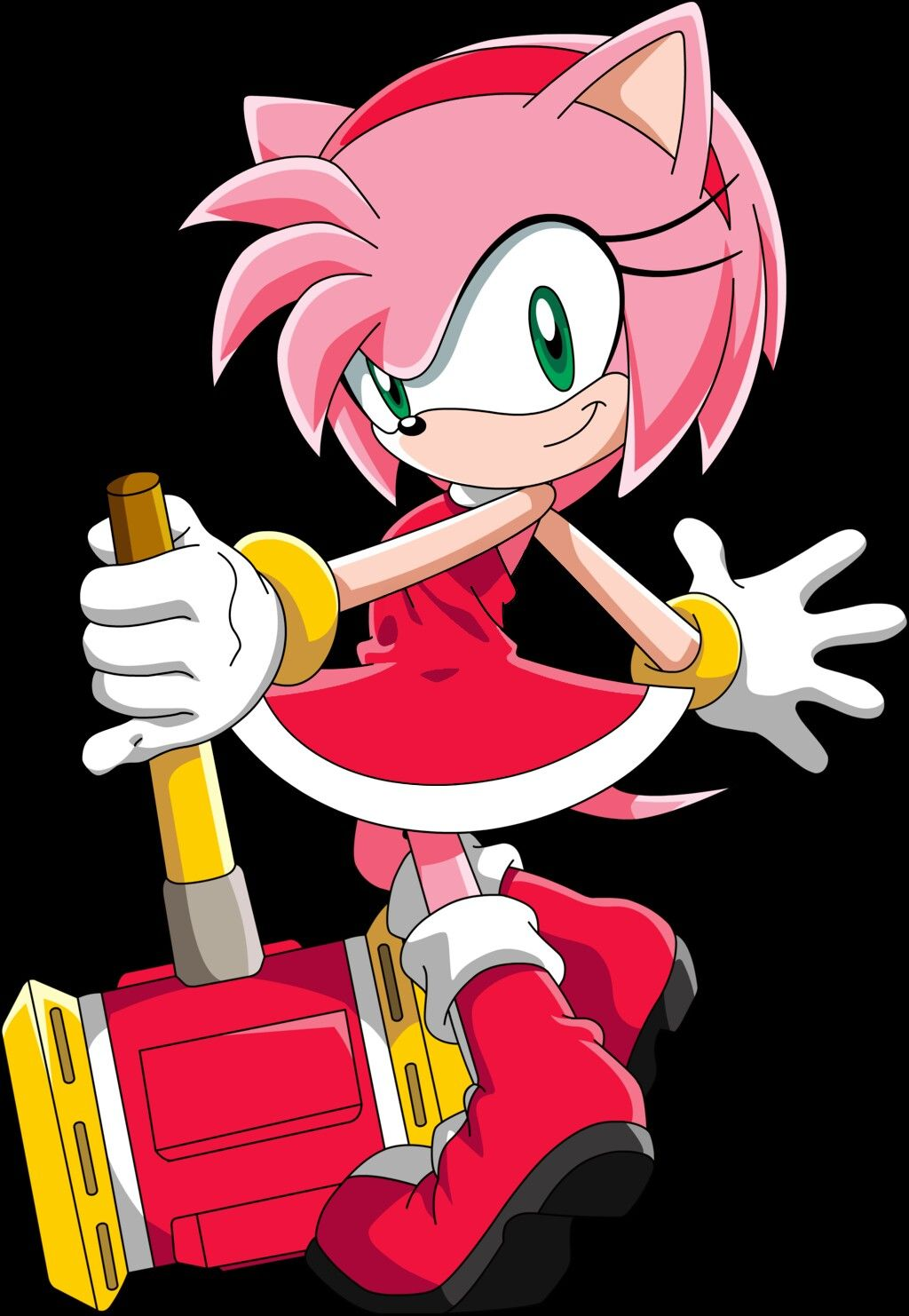 Waifu 1 From Game Amy rose, Sonic, Amy the hedgehog