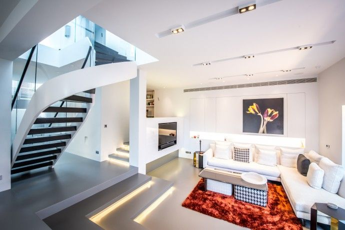 Paul Nulty Lighting Design - Residential Bright Domestic Living ...