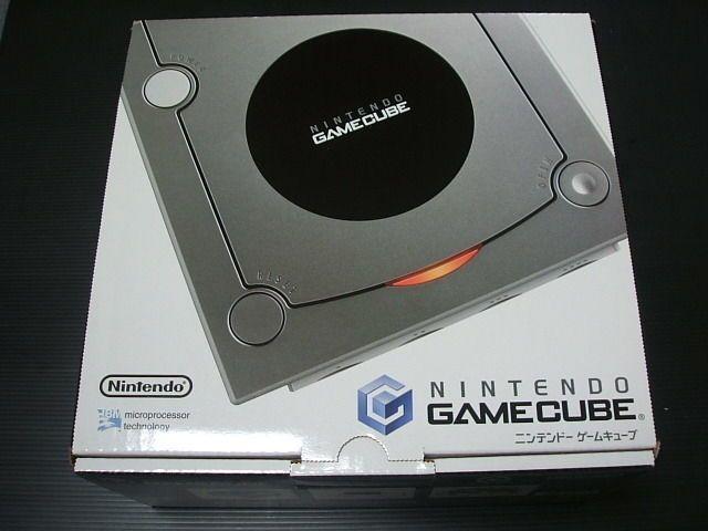 Gc Nintendo Gamecube Console Silver Import Japan 810 Nintendo