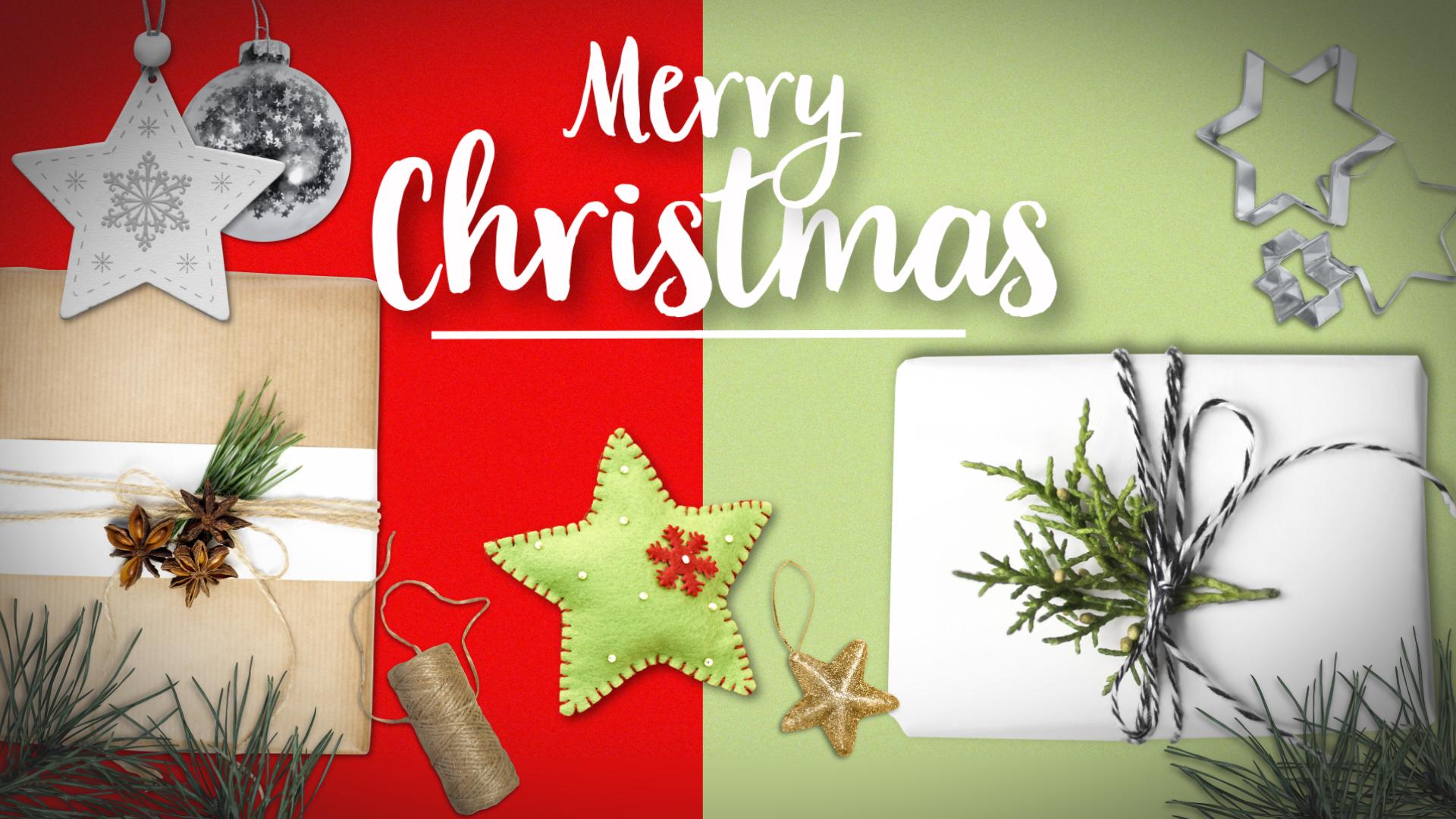 World map christmas gifts
