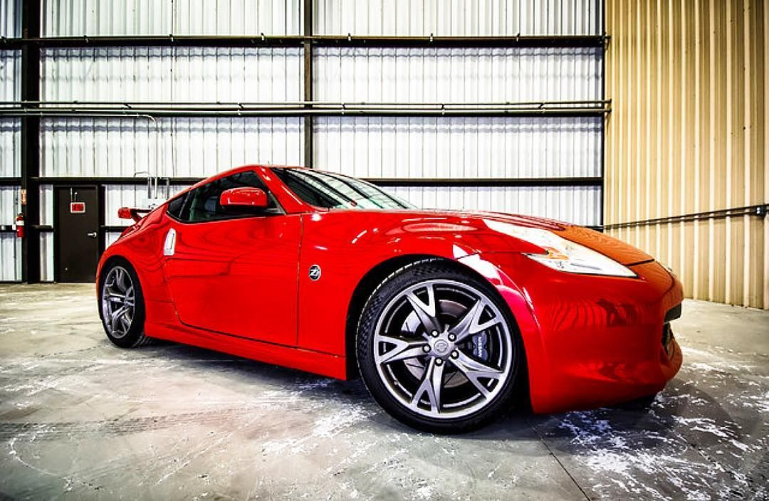 370Z tiffanyomalleyphotography cars red sportscar