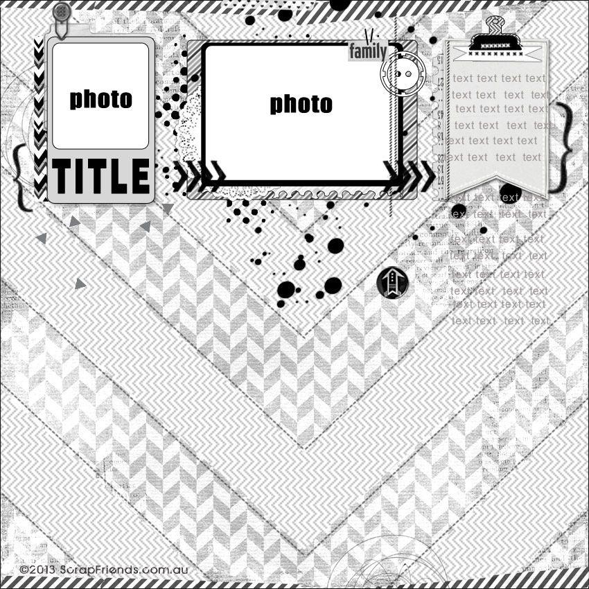 kreative koncepts: Monthly Sketch Inspiration # 13