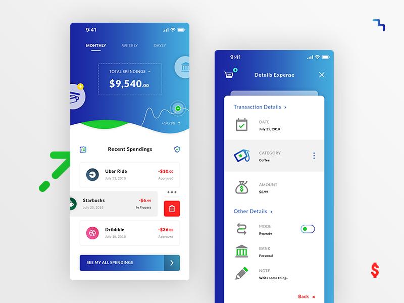 Money Spending. IOS App Rebound Freebies