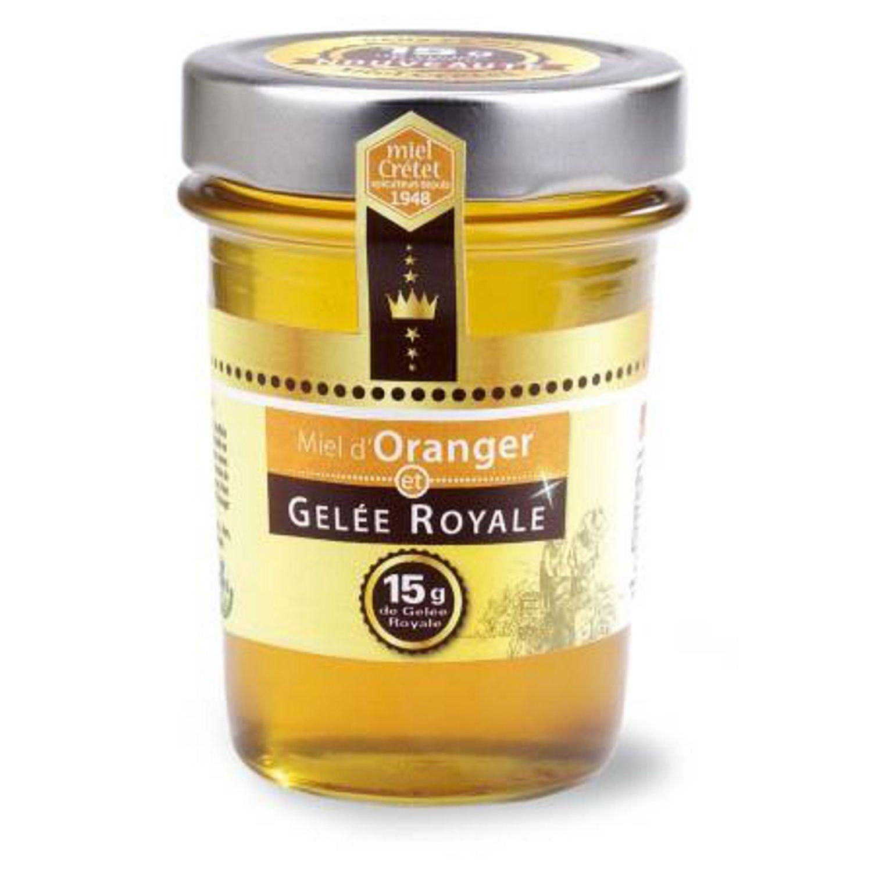 miel d oranger et gelee royale miel