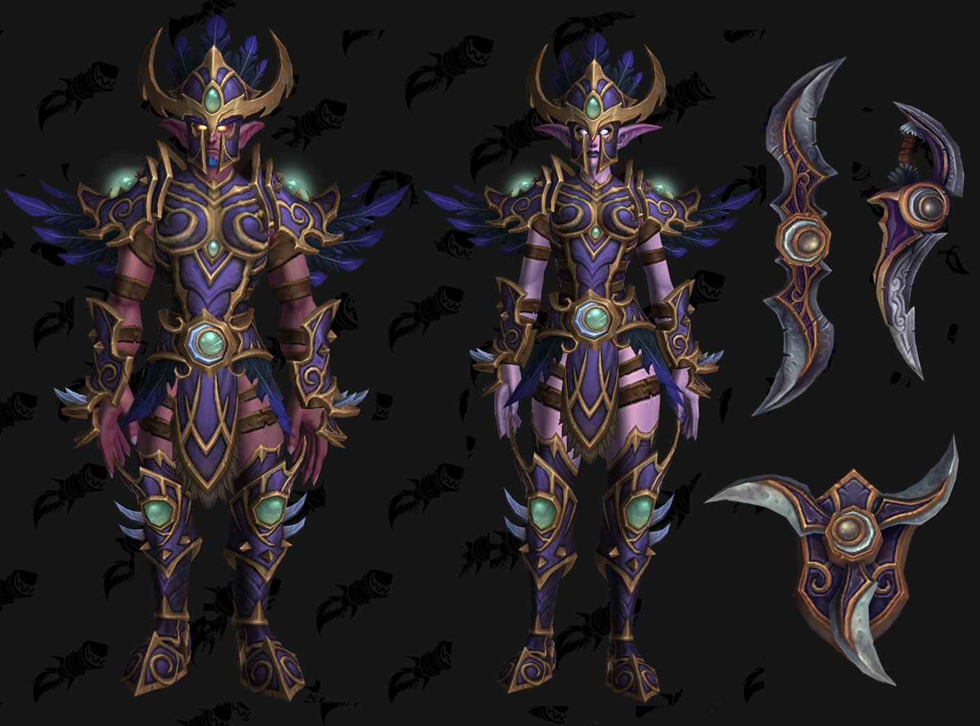 Just Found This Fan Made Night Elf Heritage Armor Concept And Its Awesome Worldofwarcraft Blizzard Hearthstone Wow W Night Elf Elf Armor World Of Warcraft I've gone ahead and updated the o.p. night elf elf armor