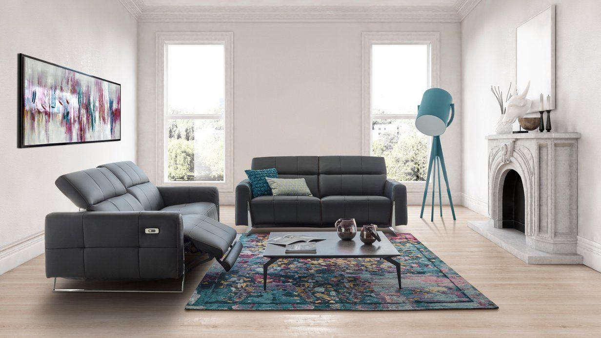 Canape Sharp Alliance Du Contemporain Et De La Relaxation Pour Ce Salon Electrique Maison Xxl Canape Design Mobilier Design