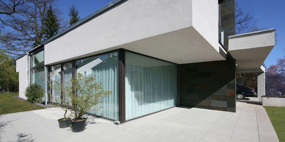Moderne Villa Satteldach By Http://www.flow Architektur.de