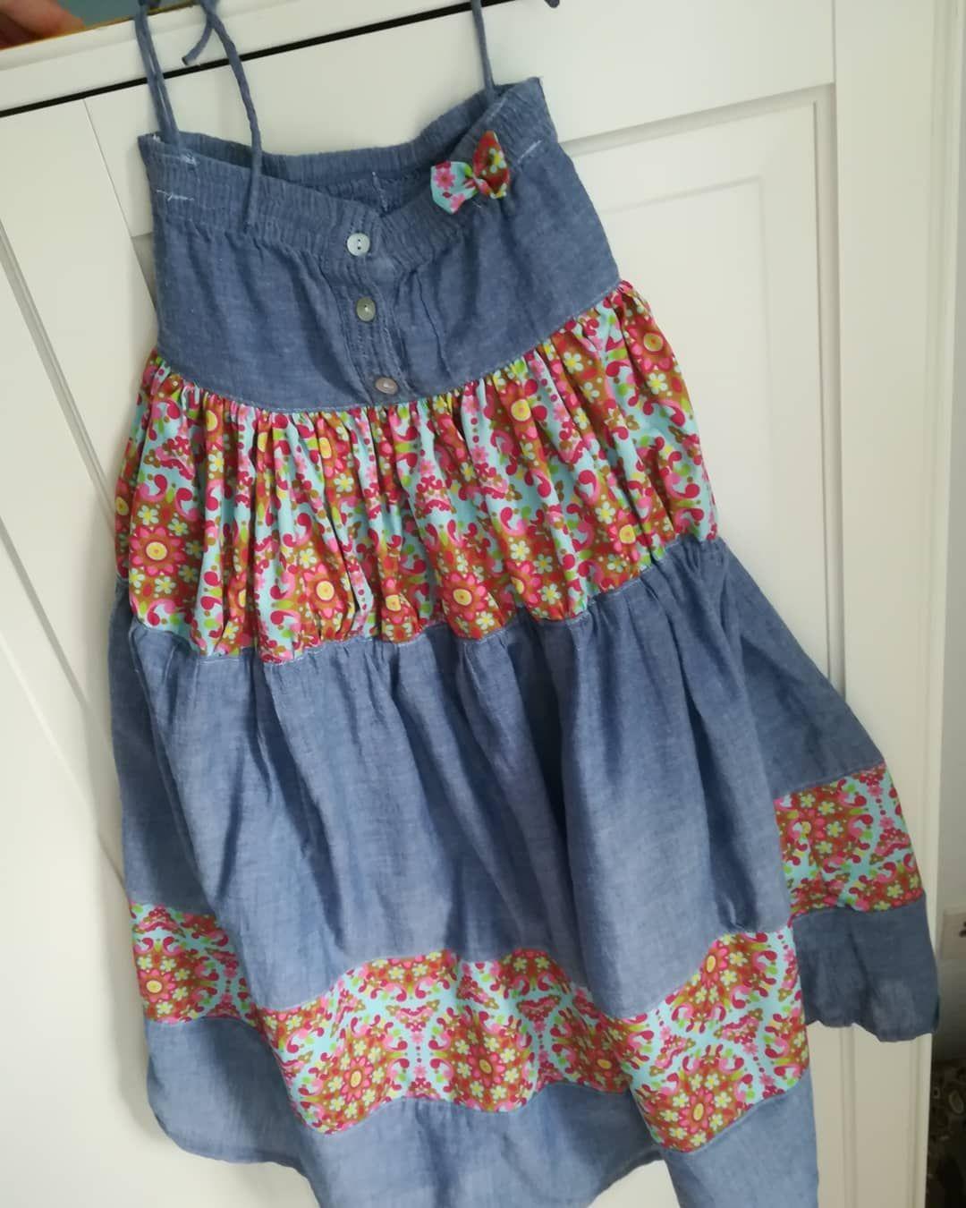 Oooomaaaa, kannst du mir ein Kleid nähen, dass soooo lang ...
