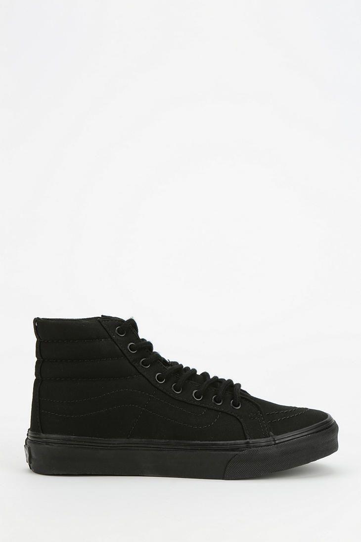 Vans SK8-Hi Total Black Women's High-Top Sneaker
