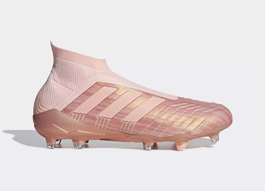 5ab548122a74 #adidasfootball Adidas Predator 18+ FG Spectral Mode - Clear Orange / Clear  Orange / Trace Pink