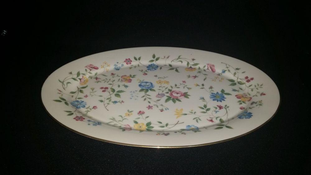 Lenox GARDEN PARTY - Oval Serving Platter  #Lenox