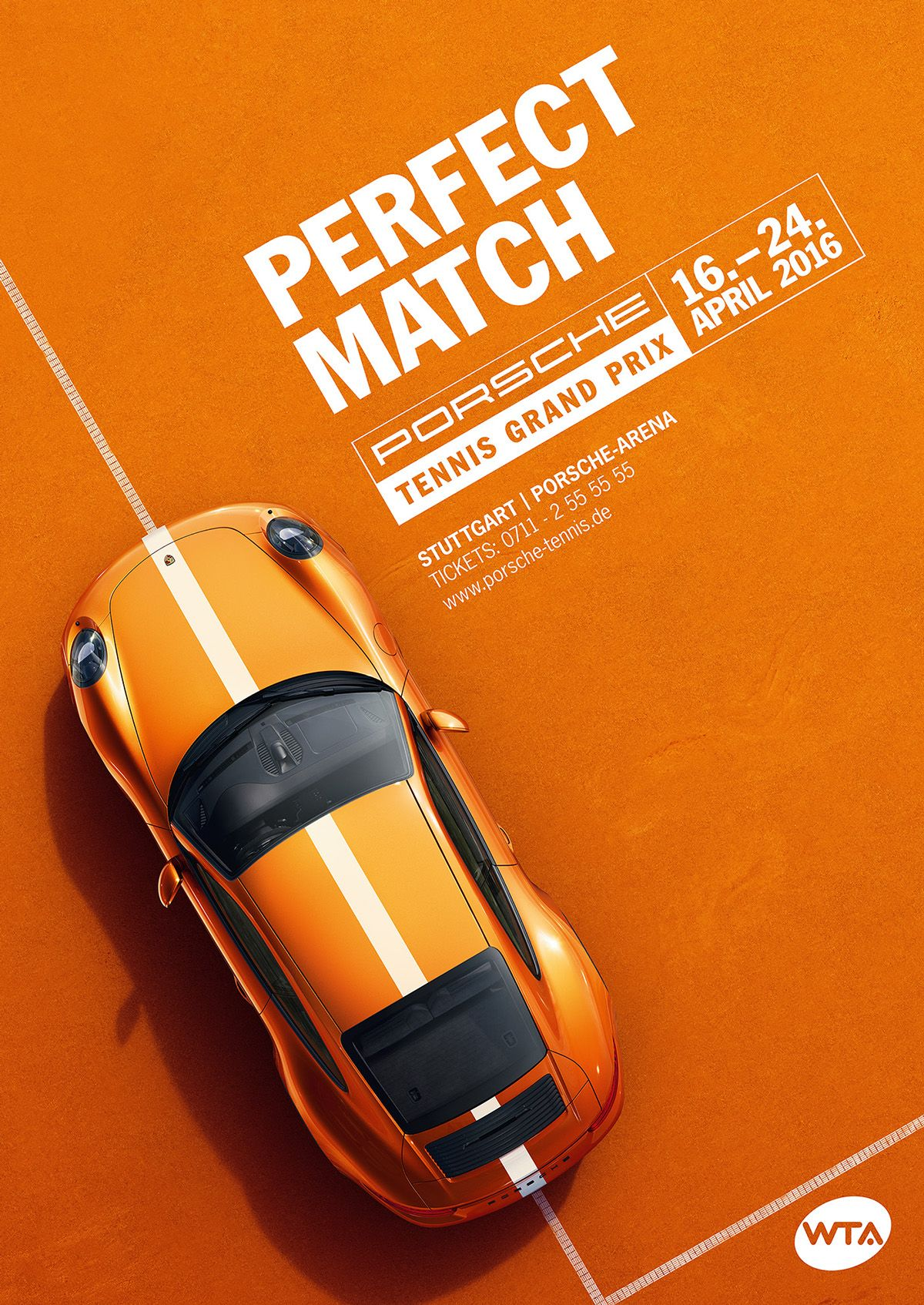 Porsche tennis grand prix 2016 by nicholas schurr for Ad designs