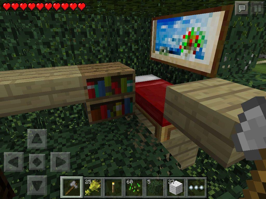 treehouse survival bedroom my minecraft pinterest treehouse
