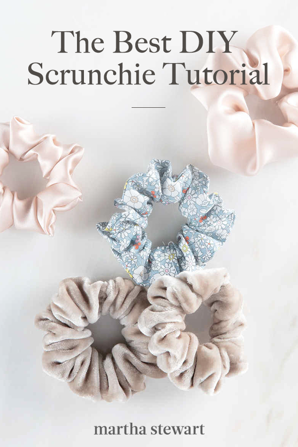 The Best DIY Scrunchie Tutorial