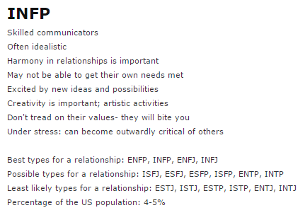 INFP INTP dating